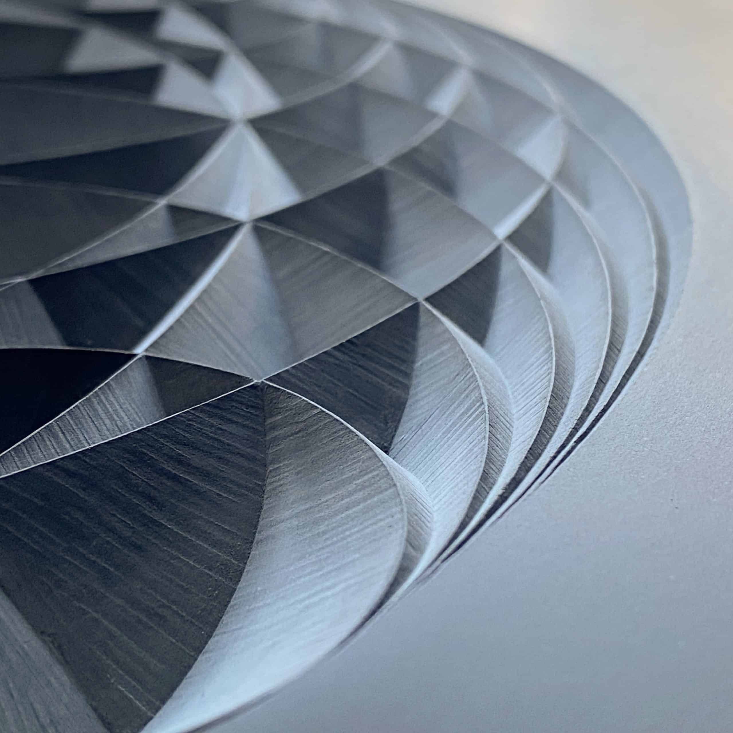 geometric pattern drawn on paper