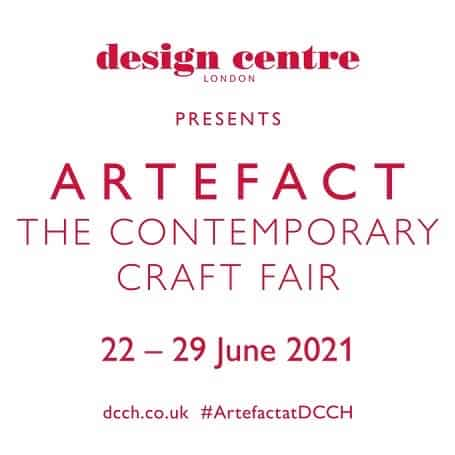 Flyer for Artefact Exhibition which runs from 22nd June to the 29th June 2021